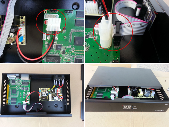 sb-8 led sender box