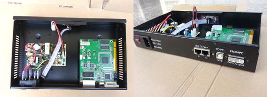 led sender box
