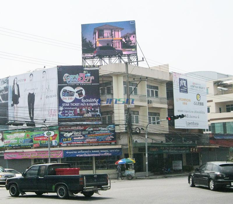 P10mm Outdoor RGB LED Display Application