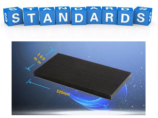 Standard LED Display Module Size 320mmx160mm