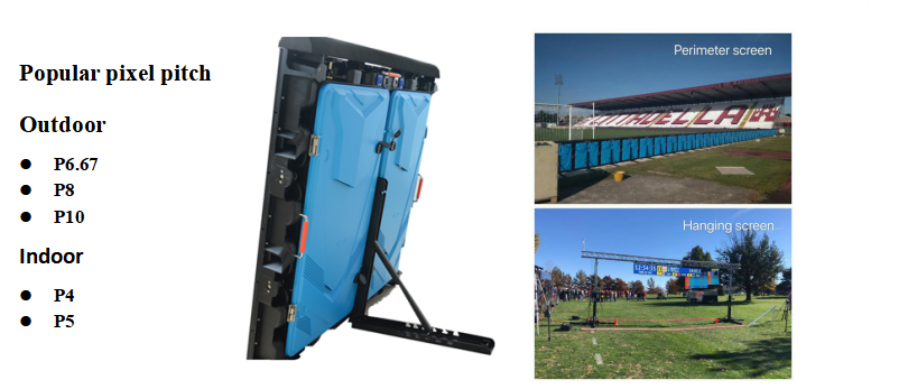die casting led cabinet for sports led display