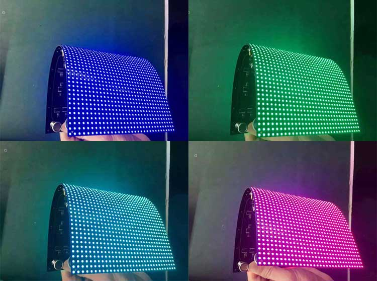 Flexible led sign panel