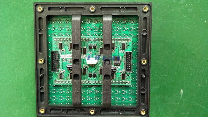 higher brightness DIP P10 led screen module