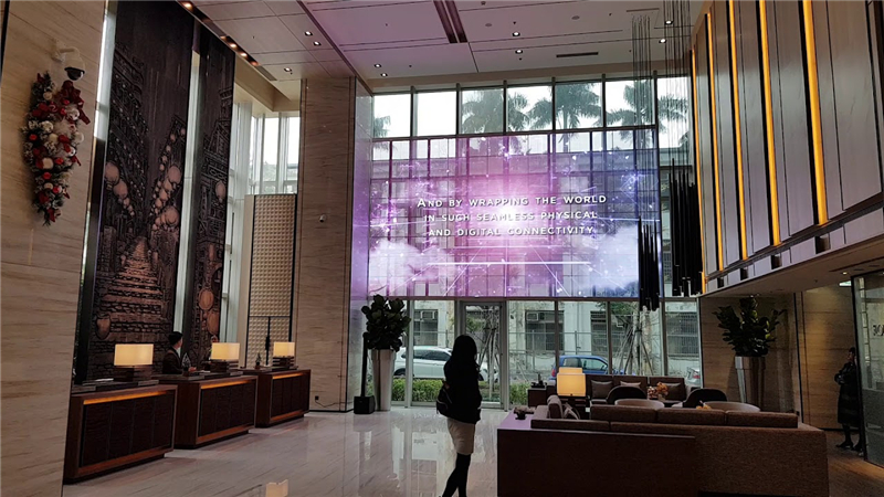 Hotel LED display rental can benifit your business a lot