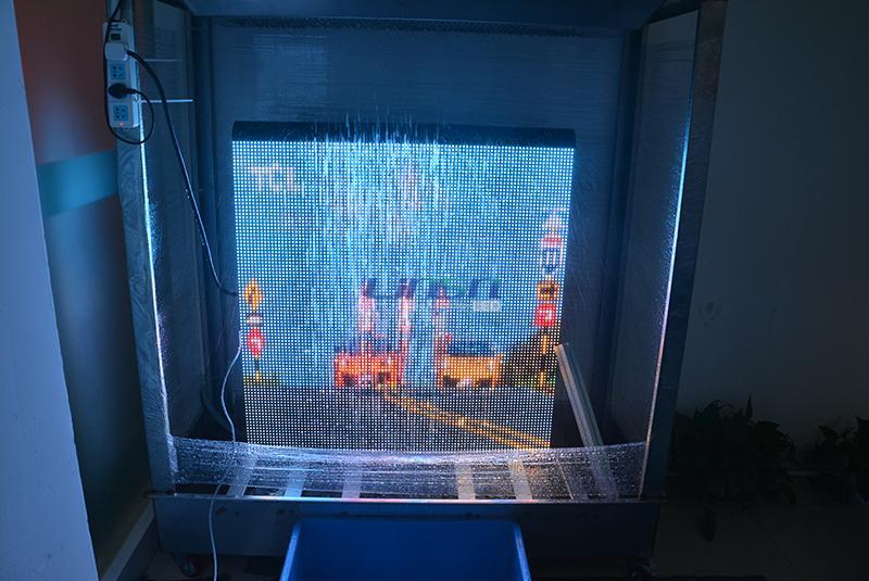 led video wall Waterproof Testing