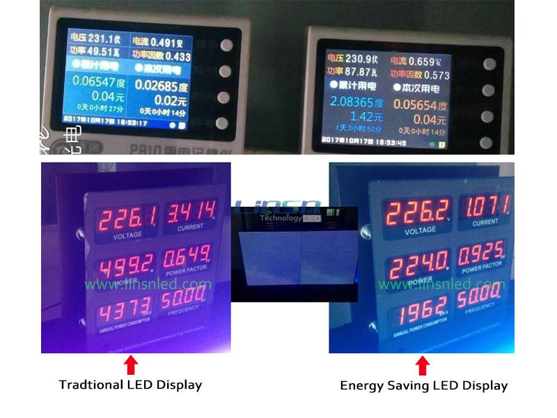 low consumption led display
