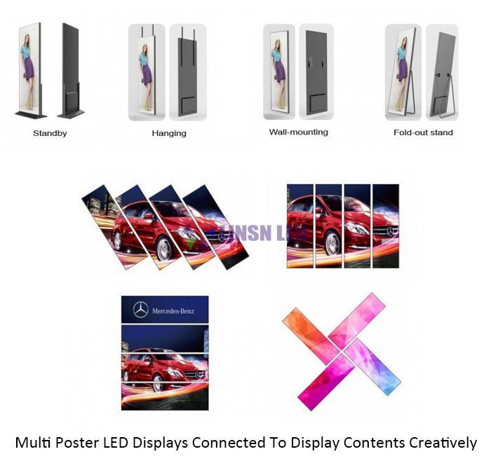 Multy Installation Poser LED display