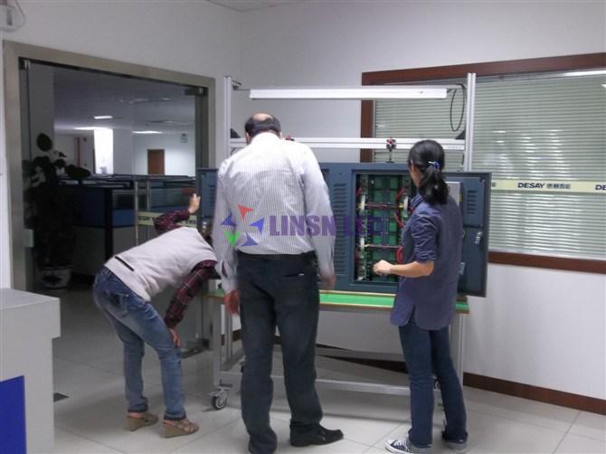 quality control LED display