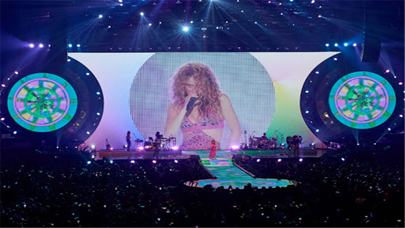 Stage LED display for stages, concerts and bar