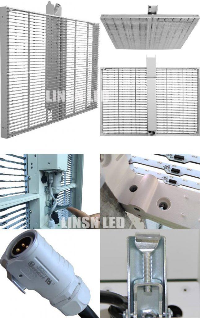 Transparent Display Cabinet