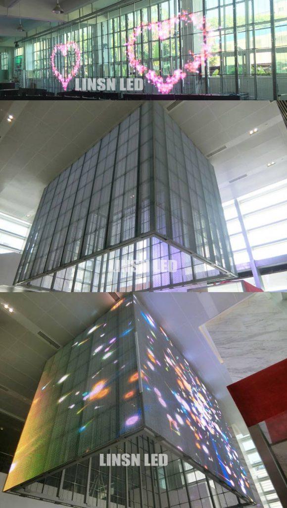 Transparent LED Banner