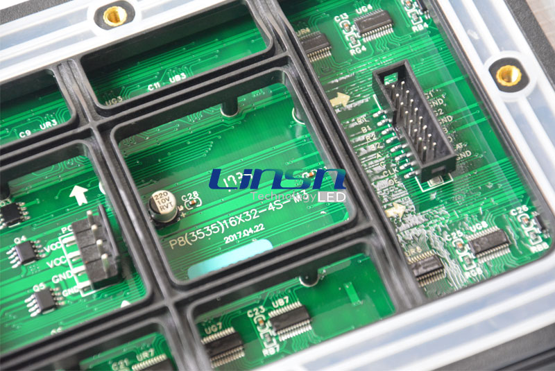 P8mm outdoor LED sign module