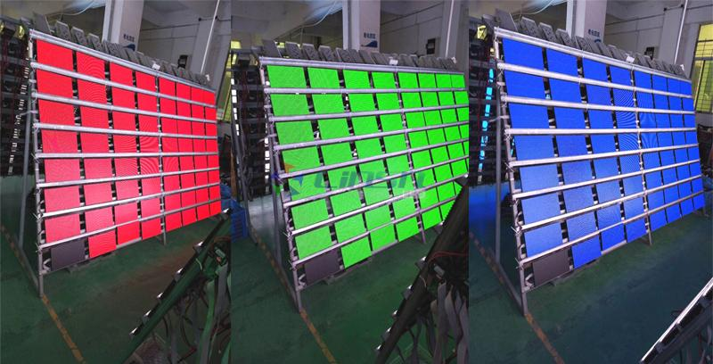 LED display module Aging test