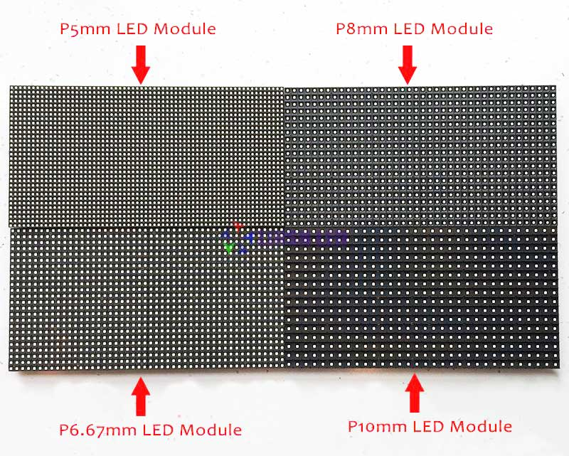 Standard Size 320*160mm led display module