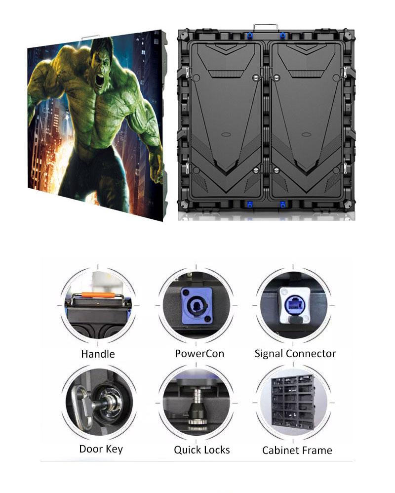 S960 Series Magnesium Alloy LED Display