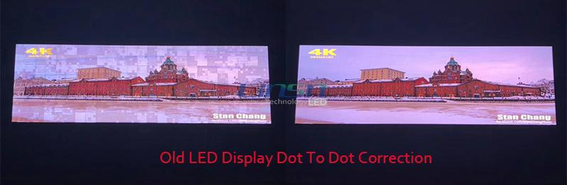 Old LED display Dot Calibration