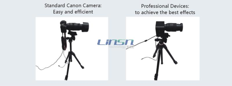 Standard Canon Camera for Dot Calibration LED display