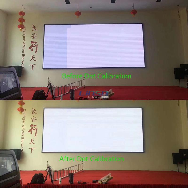 Dot Calibration LED screen