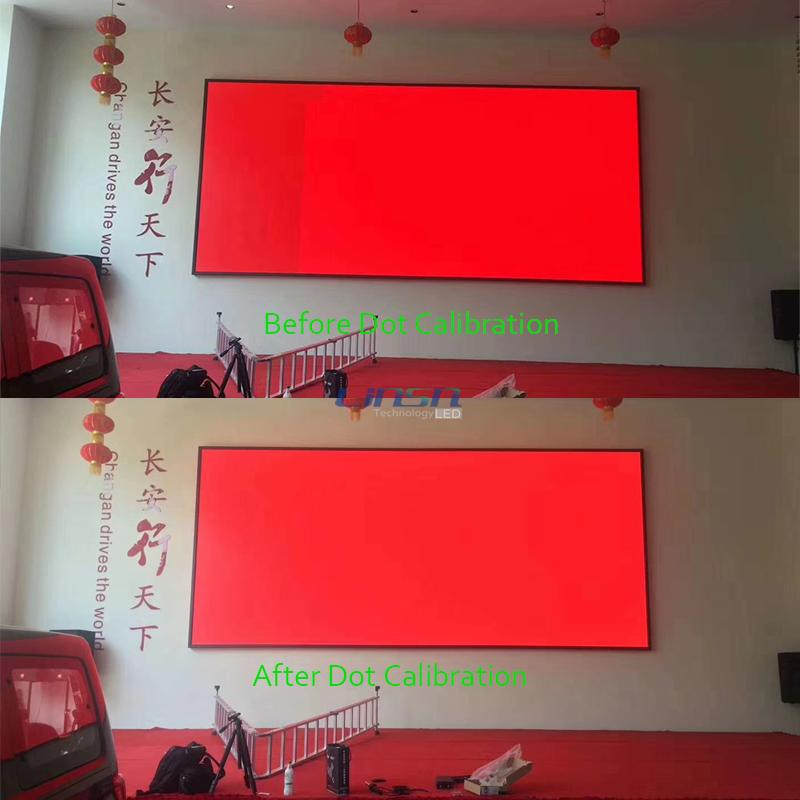 Dot Calibration LED Display