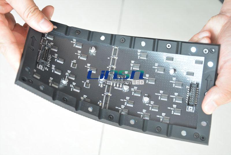 P4mm flexible Soft LEd screen panel