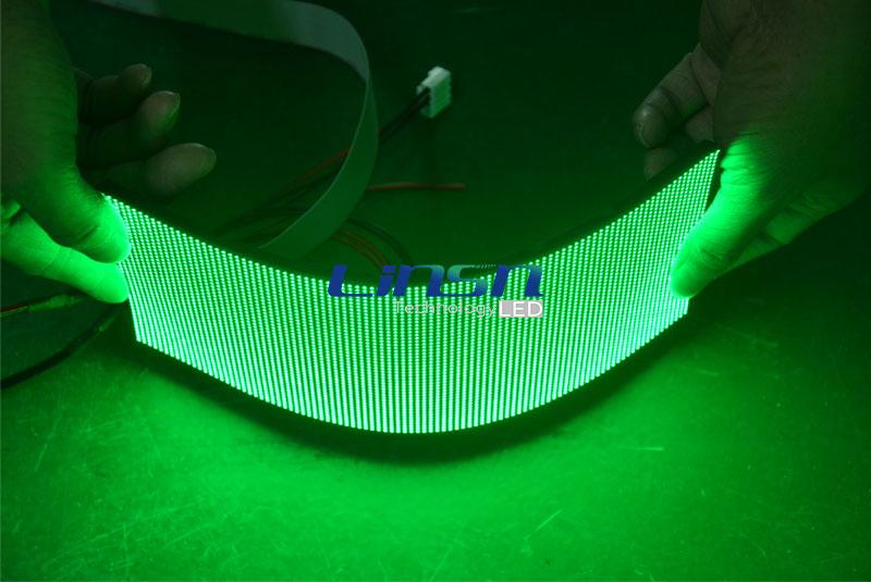 P4mm flexible Soft LEd display module