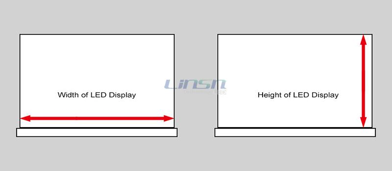 How to Measure the Size of LED Display Screen
