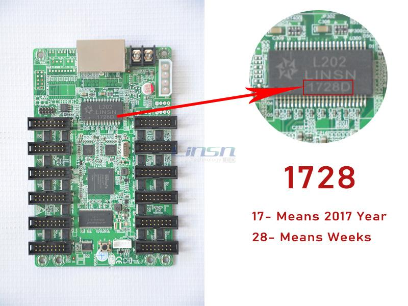 Production Date of Linsn LED Receiving Card