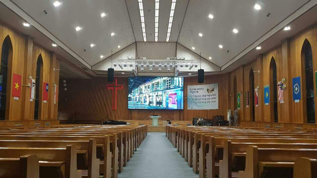 front service Indoor P2.5mm led screen