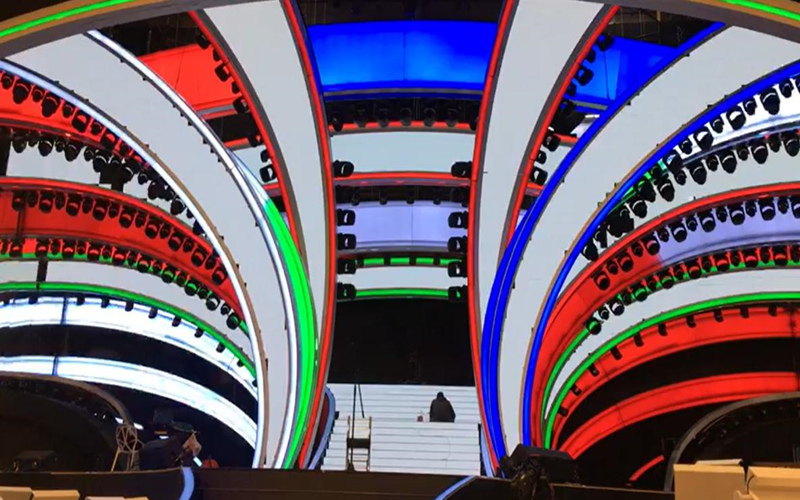 Creative LED video wall display excellent visual experience