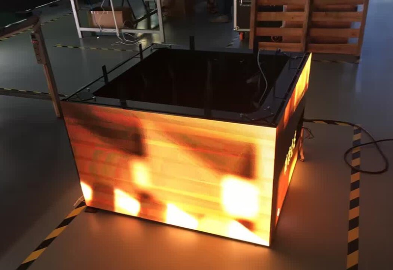 LED creative screen display perform high-quality images