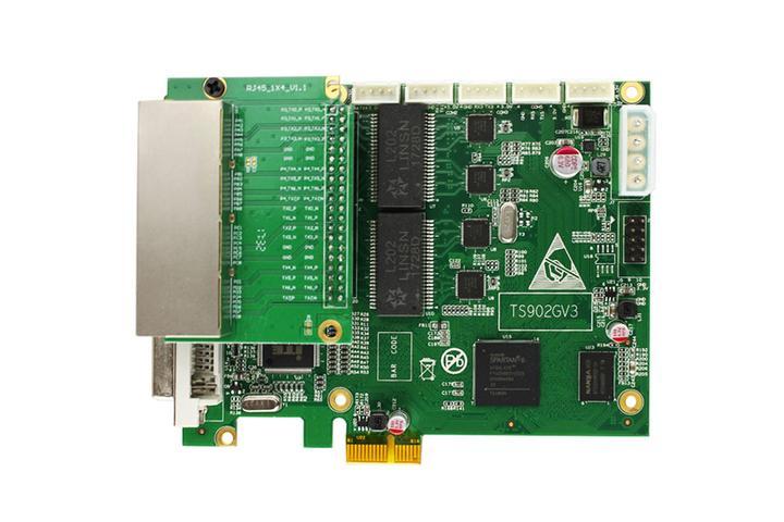 Linsn TS902 LED Sending Card supports PCI-E slots