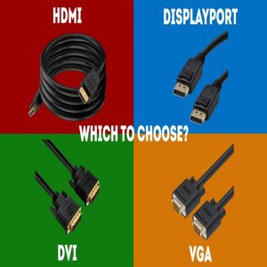 Common Interfaces of LED video processor