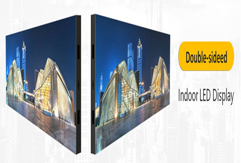double side outdoor LED display show you wonderful images