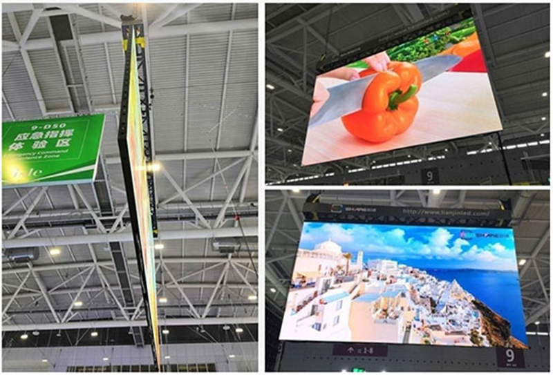 outdoor LED display screen case sharing