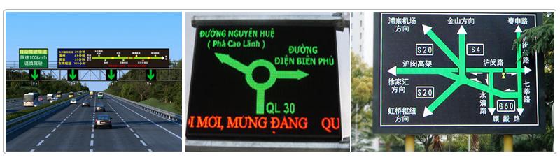 traffic guidance led display
