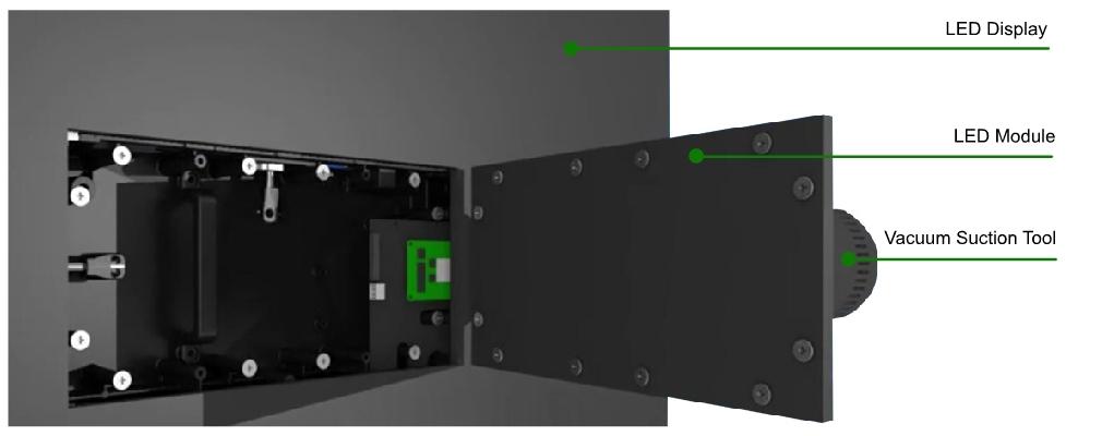 640x480mm LED screen