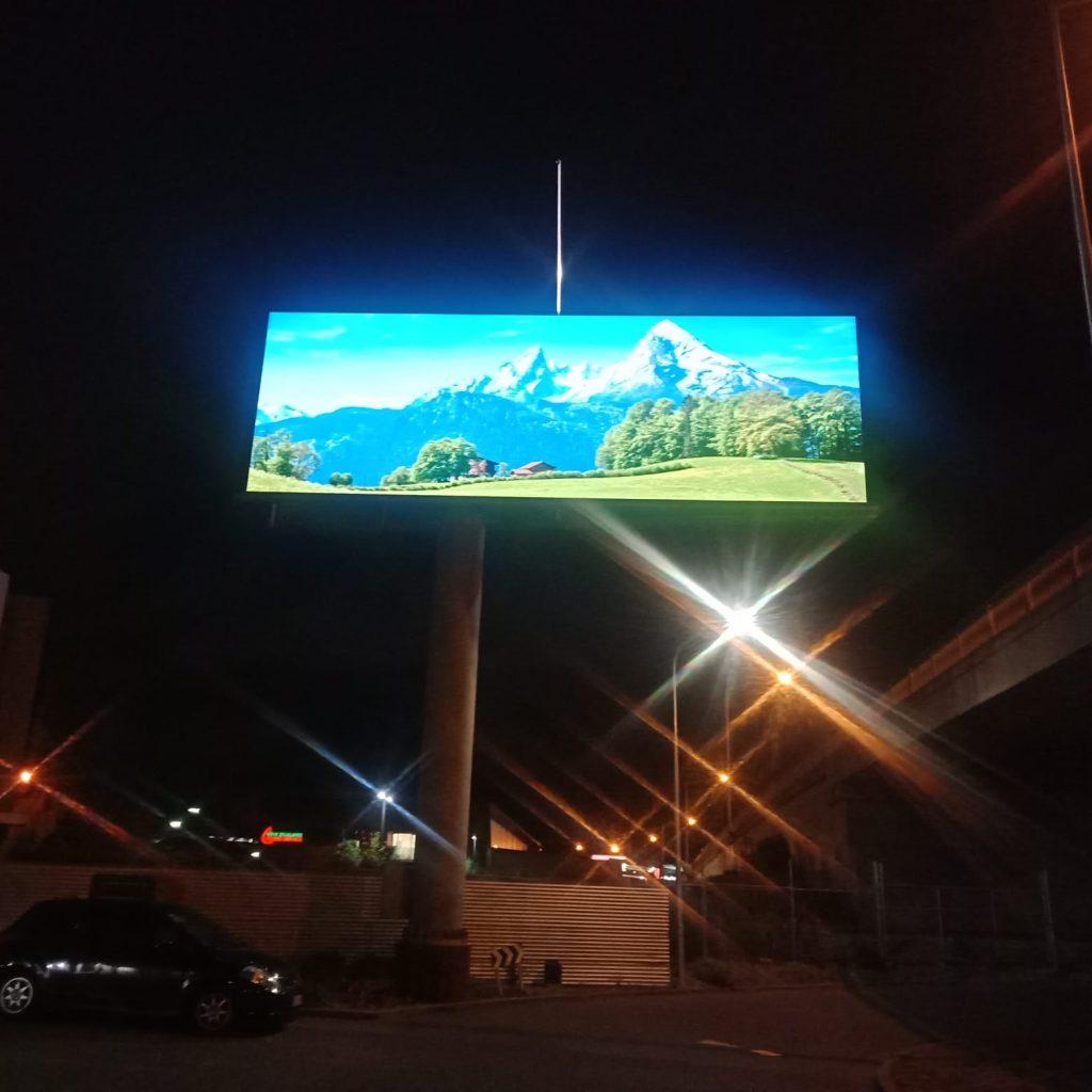 LED billboard advertising case sharing