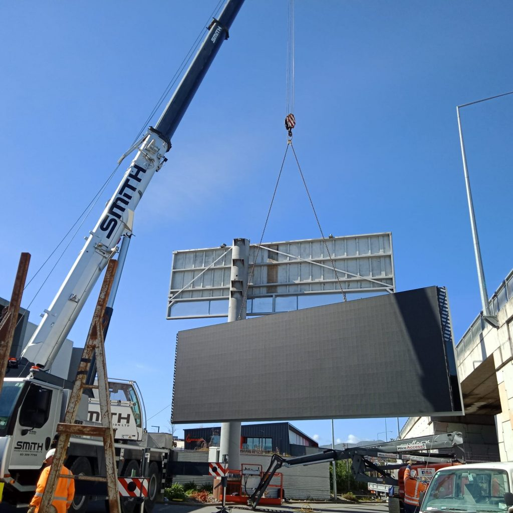 outdoor advertising led display screen case sharing