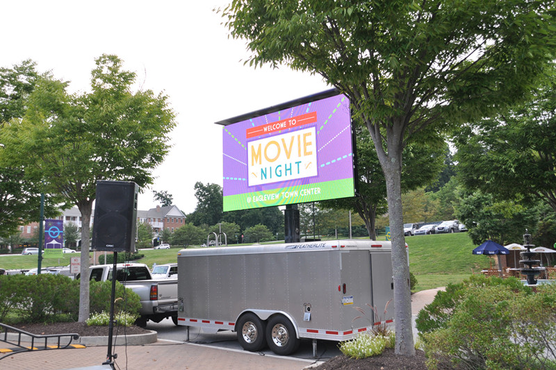 LED Video Mobile Screen Rental company