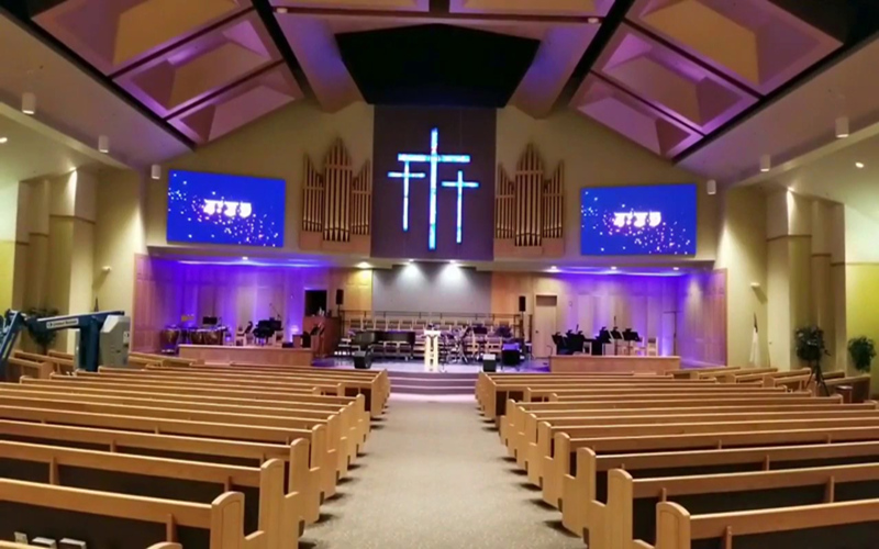 large led screens for churches