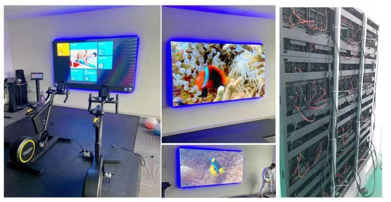 Linsn LED indoor screen case 2