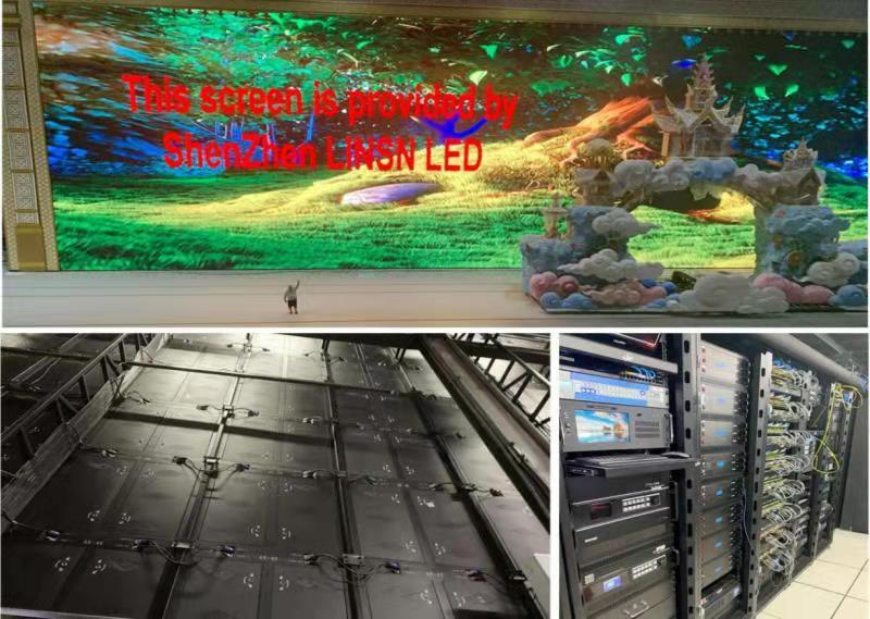 Linsn indoor LED display case 3