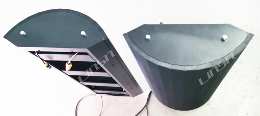 Curved LED display Cabinet