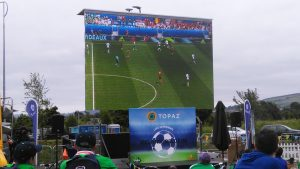 LED display rental for events