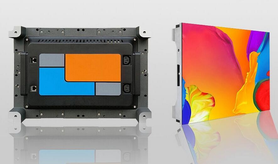 N43 LED display cabinet, Linsn LED display screen