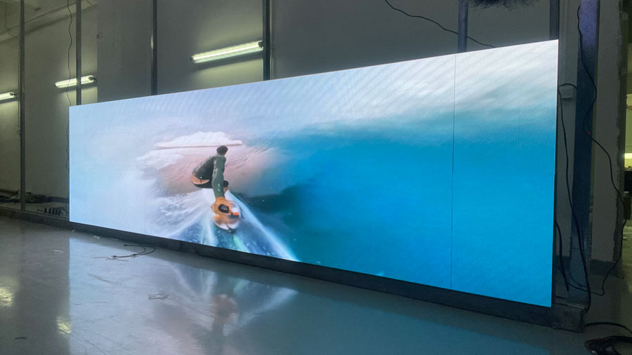 P2.5mm 640×480mm LED Display for Australia Customer