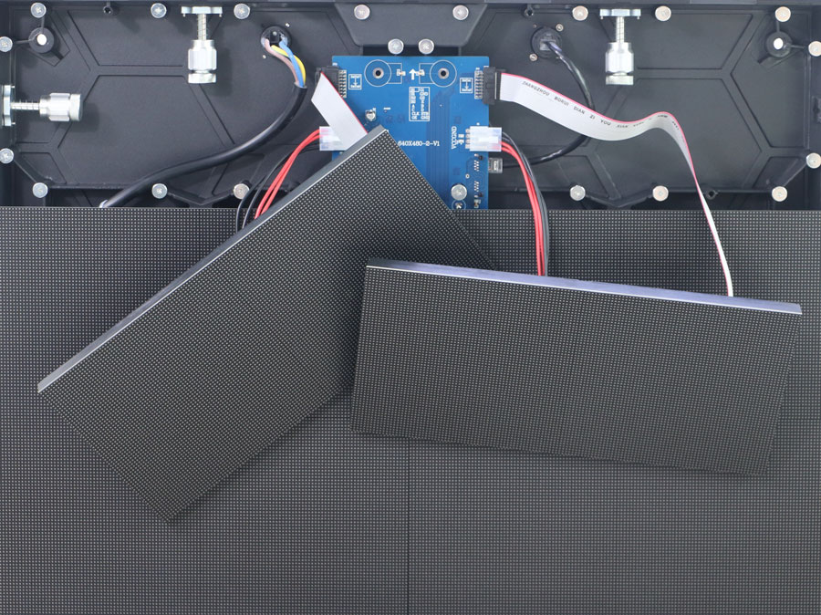 Frontal Service LED display