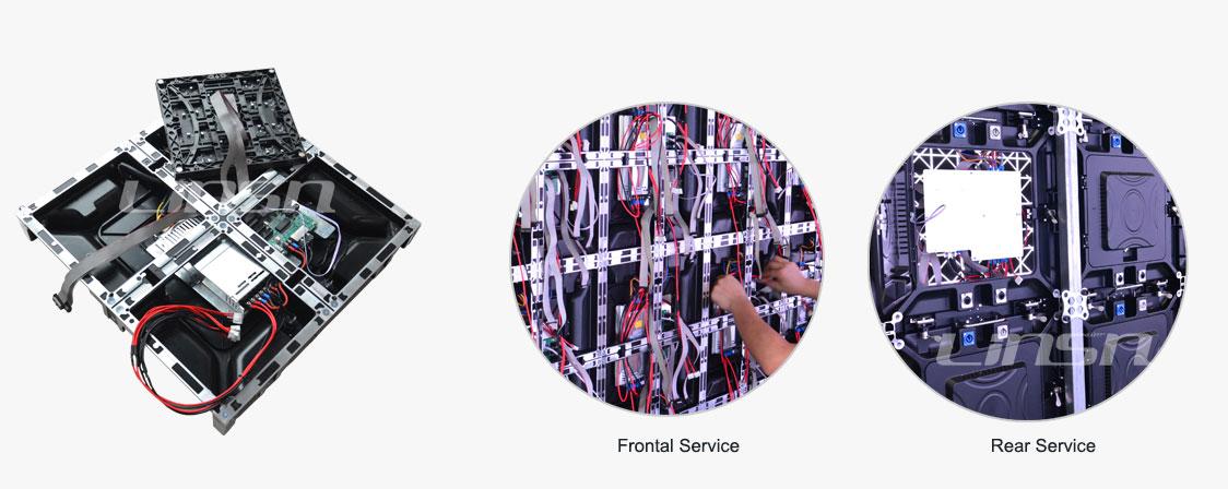 dual service 480mm led display