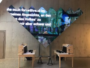 P4.81mm led display for Landesmuseum