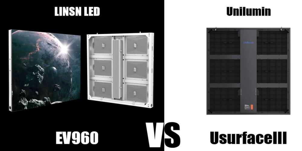 ev960 energy saving LED display vs usurfacell led display